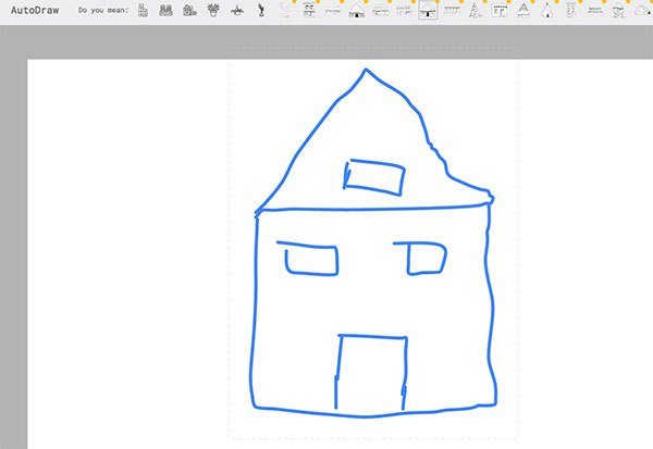 google_autodraw_house